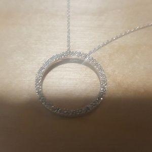 NWOT / sterling & diamond CIRCLE OF LIFE